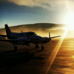 king-air-sunset